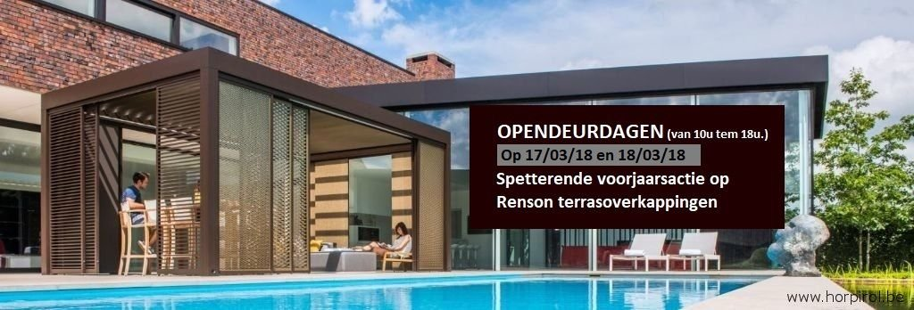 Terrasoverkapping poolhouse