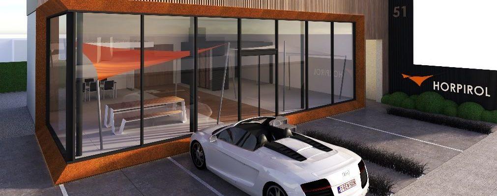 Nieuwe showroom Waregem